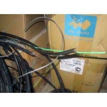 Оптический кабель Б/У для внешней прокладки (с металлическим тросом) в Архангельске, оптокабель БУ (Архангельск)